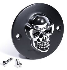 3D Skull Ignition cover Pointcover for Harley Davidson Evo Shovel Sportster