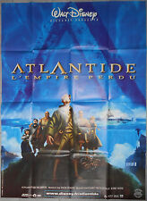 Affiche ATLANTIDE L'EMPIRE PERDU Atlantis Lost Empire GARY TROUSDALE 120x160cm
