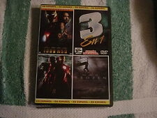 Iron Man/Iron Man 2/Frozen (DVD) Triple Features, In Spanish, Espanol