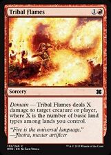 4x Fiamme Tribali - Tribal Flames MTG MAGIC MM2 Modern Masters 2015 Eng