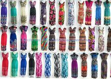 wholesale lot of 15 long dress maxi sundress beach dress vacation dress halter