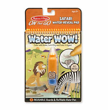 Melissa & Doug On The Go 9441 Water Wow! Book - Safari - New, Sealed