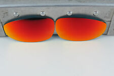 Oakley X Metal Juliet Ruby Iridium Replacement Lenses Custom OEM NEW DEEP RED