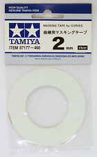Tamiya 87177 2mm Masking Tape For Curve RC Plastic Craft Paint Tool Spray