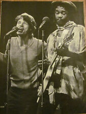 The Rolling Stones, Mick Jagger, Full Page Vintage Pinup