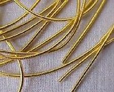 Smooth Purl, Gold Bullion for Metal Thread Embroidery