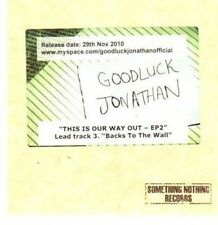 (BN159) Goodluck Jonathan, This Is Our Way Out - DJ CD