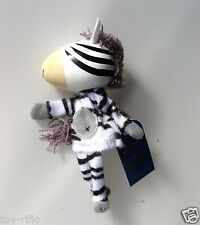 "ZEBRA - WOODEN HEADED ""TELL A TALE"" FINGER PUPPET BY FIESTA CRAFTS - BRAND NEW!"