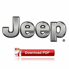 1993 Jeep Grand Cherokee (ZJ) Factory Shop Maintenance & Repair Manual (PDF)