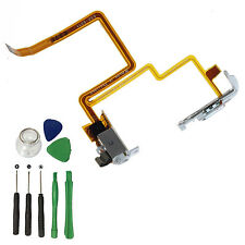 Interruptor de retención para Auriculares Audio Jack Blanco Flex Cable Para Ipod Video 5th 30GB+ herramientas