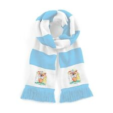 Retro Manchester City 1976/1981 Sky Traditional  Football Scarf Embroidered Logo