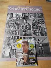 MUSCLEMAG bodybuilding muscle magazine/ARNOLD SCHWARZENEGGER with poster 9-91