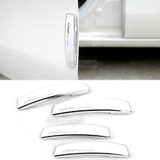 Simple Edge Door Guard Bumper Protector White Color for Universal Car