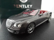 1:43 Minichamps Bentley Continental GTC Speed VERY RARE MIB