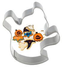 Halloween Acero Inoxidable fantasma Bizcocho Masita Cortador Pastelería Fondant Molde Nuevo