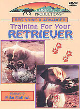 Beginning and Advanced Training For Your Retriever (DVD, 2003) NEW Dog Hunting