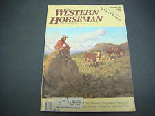 Western Horseman Magazine,September 1980,Chiropractic Treatment,Small Town Rodeo