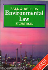Ball and Bell on Environmental Law by Stuart Bell, Simon Ball (Paperback, 1997)
