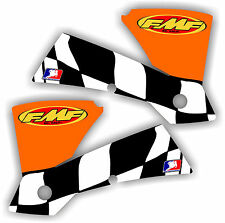 KTM FMF Shroud Graphics Kit 125 250 450 520 525 01-04 SX MXC EXC sticker decal