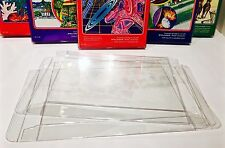 10 Box Protectors For INTELLIVISION Video Game Boxes   Clear Display Cases