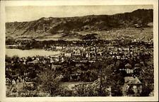 Zürich Schweiz Postkarte ~1910/20 Panorama Gesamtansicht See Berge ungelaufen