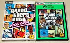 2 pc jeux collection-GTA grand theft auto vice city & san andreas