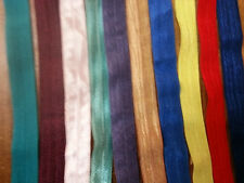 Mix lot assorted 10 colors  foe fold over elastic 5/8 10x1 y ship from U.S.