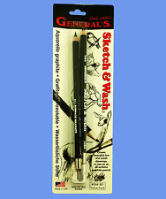 GENERAL'S AQUARELLE GRAPHITE KIT - PREMIUM QUALITY, USA MADE