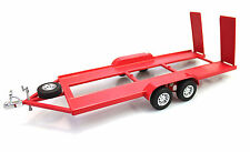 1:18 Scale Metal Trailer Red Diecast Man Cave Ozlegends