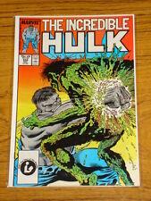 INCREDIBLE HULK #334 VOL1 MARVEL COMICS MCFARLANE AUGUST 1987