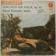David Oistrach - Beethoven - Concerto for Violin Op. 61 LP USSR Orchestra GAUK