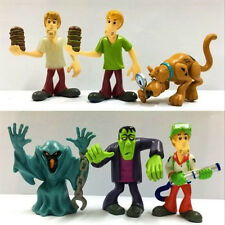 Lot 6pcs Toy Scooby Doo Crew Set. Mystery Mates & The Monsters Mega Movie Figure