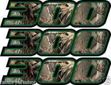 Camo 300 Decals Stickers 4x4 Graphics Sticker Snowmobile Quad ATV skidoo Bayou