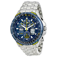 New With Tags Citizen Men's Eco-Drive Blue Angels Skyhawk A-T Watch JY0040-59L