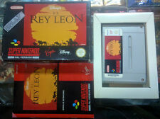 EL REY LEON THE LION KING PAL ESPAÑA SNES SUPER NES NINTENDO ENVIO CERTIFICADO