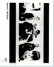 RARE Original Press Photo of Mano Negra  Ska Punk Rock Band