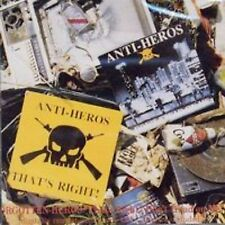 ANTI-HEROS Forgotten Heroes CD