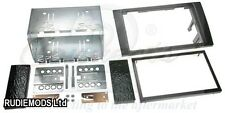 Audi A4 B6 B7 01-09 Black Double Din Car Stereo Fitting Kit Facia CT23AU01