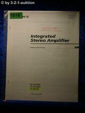 Sony Bedienungsanleitung TA FE530R /FE330R /FE230 Amplifier (#1818)