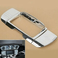 Chrome Stereo Radio Trim Cover for Harley Davidson Street Glide, Touring 2014-Up