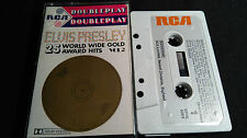 ELVIS PRESLEY 25 World Wide Gold Award Hits Vol2  *RARE UK MC TAPE*