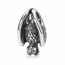 Trollbeads original authentic  SLEEPING BAT 11381 PIPISTRELLO