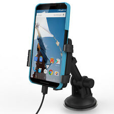 For Motorola Droid Turbo,  Moto G, Moto X: Vehicle Charging Dock, Slim Cases Fit