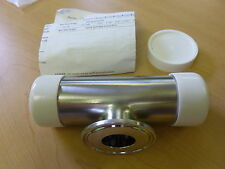 """Swagelok Sanitary SS316L Reducing Short Outlet Tee 1.5"""" to 1"""" Weld Clamp (11471"""