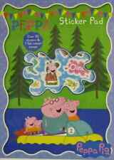 PEPPA PIG STICKER PAD ACTIVITY SET, 7 Scenes,30+ Stickers,Creative Fun, Gift.