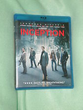 PRISTINE Inception WIDESCREEN BLU RAY DVD COMBO  LEO DiCAPRIO Corrected Photos