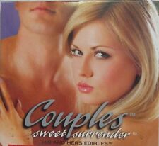 Couples Sweet Surrender His & Hers Edible Undies Passion Fruit Sexy Romantic