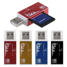 USB 2.0  All in 1 Micro SD/TF M2 MMC SDHC MS PRO Duo Memory Card Reader Adapter