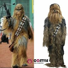 Halloween RARE Star Wars Chewbacca Fancy Dress Costume Adult Xmas Masco One Size