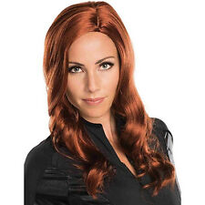 Marvel Captain America Civil War licensed Black Widow Secret Wishes Red Head Wig